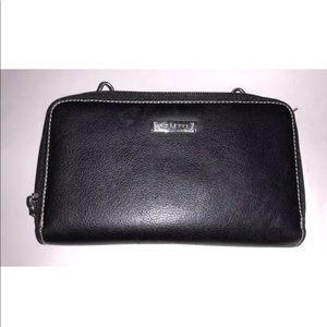 Rosetti Clutch Purse Wallet Black Phone Holder
